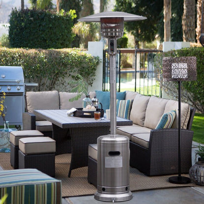 Picture of Outdoor Propane Patio Heater with accessories