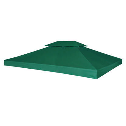 Picture of Outdoor Waterproof 10' x 13' Gazebo Cover - Canopy Green