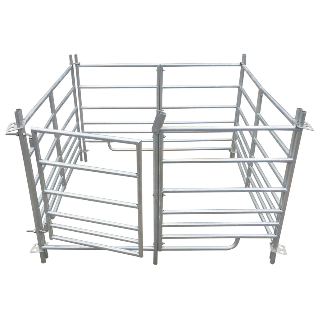 Picture of Pet Animal Cage Pen 4-Panel Sheep  Galvanized Steel 53""
