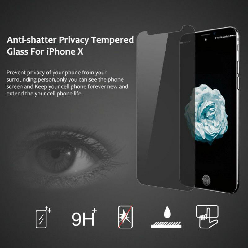 Picture of Privacy Screen Protector Film Guard for iPhone 8 8Plus X