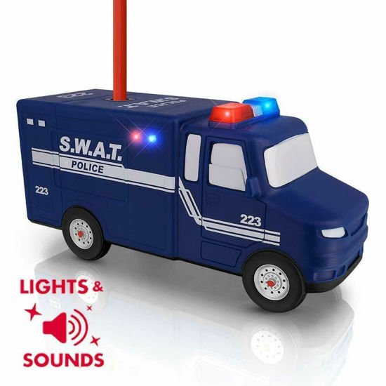 Picture of Police SWAT Pencil Sharpener with Lights and Music