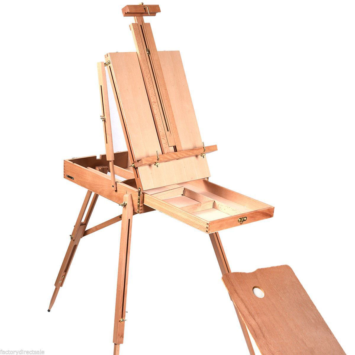 Picture of Portable French Style Art Easel / Sketch Box