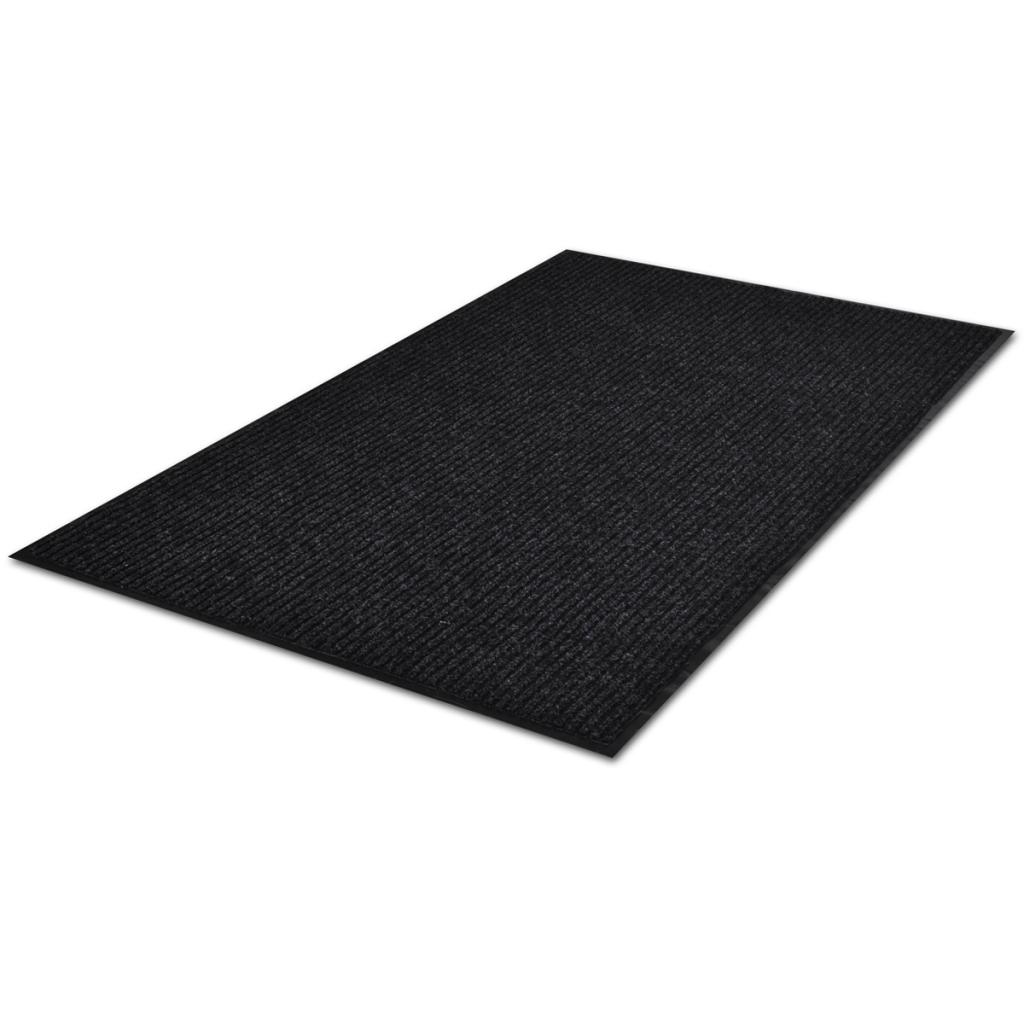 "Picture of PVC Door Mat 35"" x 47"" - Black"