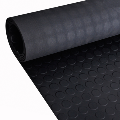 Picture of Rubber Floor Mat Anti-Slip with Dots 7' x 3'