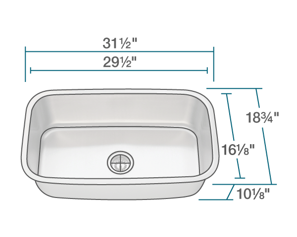 Picture of Stainless Steel Kitchen Sink