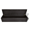 Picture of Storage Bench Foot Stool Ottoman Large Size - Brown