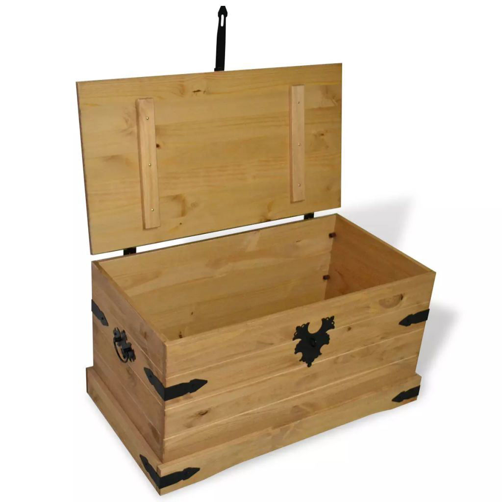 """Picture of Storage Chest 35"""" - Mexican Pine Corona Range"""