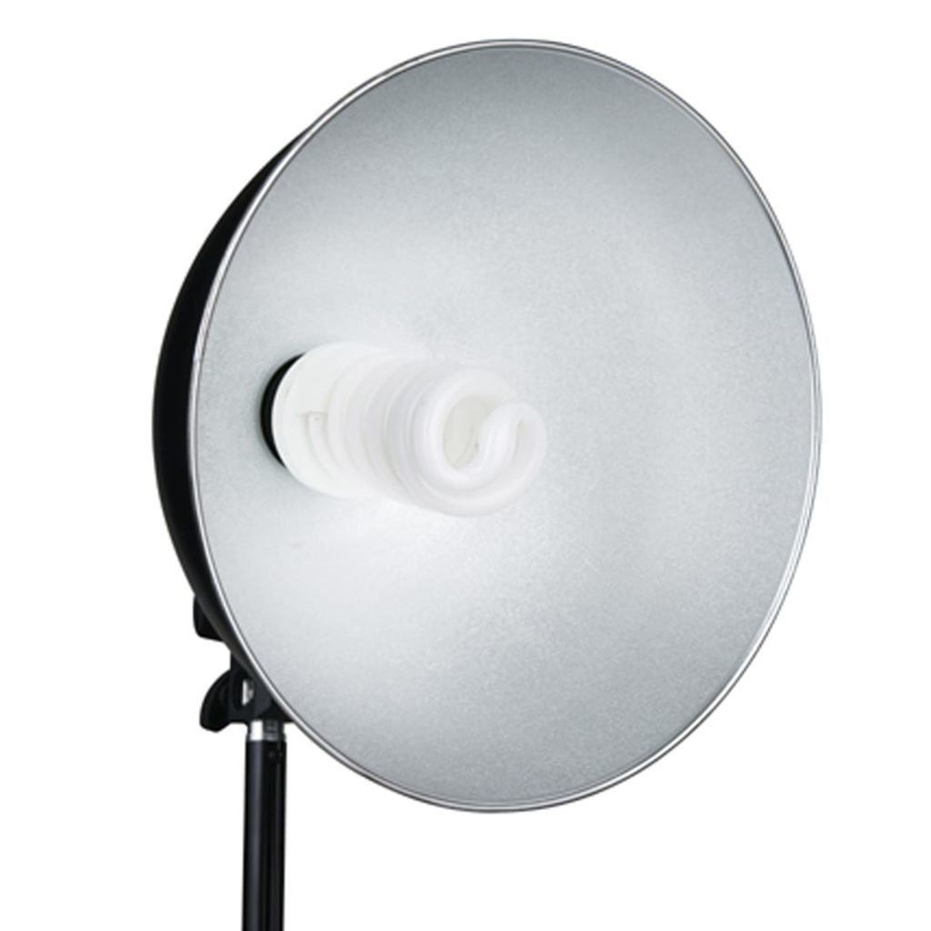 Picture of Studio Lamps with Reflector and Tripods 24 watts