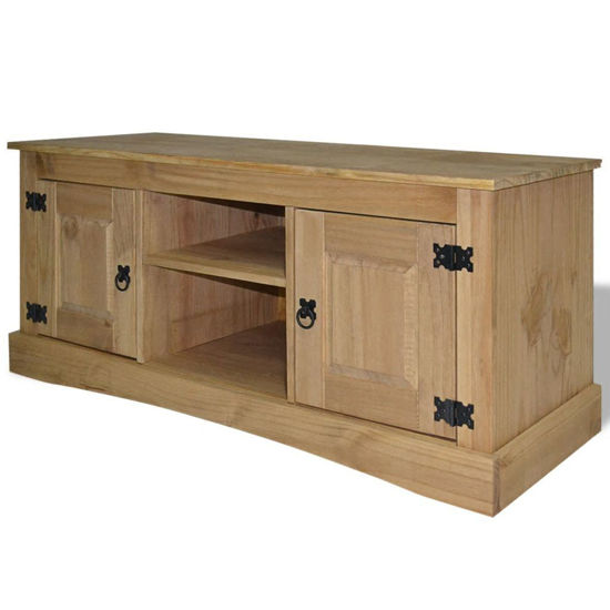 "Picture of TV Cabinet 47"" - Mexican Pine Corona Range"