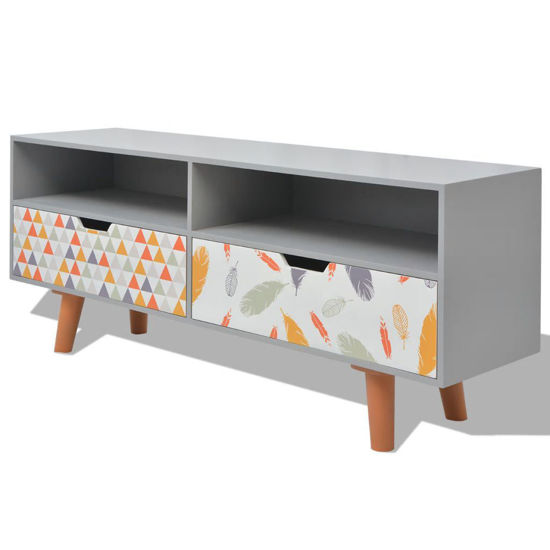 "Picture of TV Cabinet MDF 47"" - Gray"