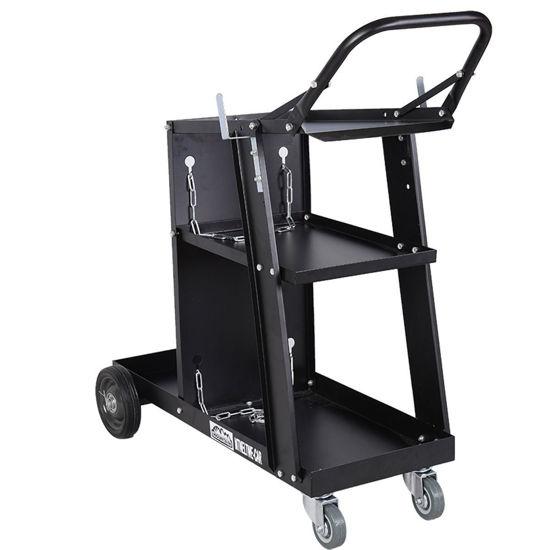 Picture of Welder Welding Cart Plasma Cutter MIG TIG ARC Universal Storage for Tanks