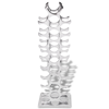 Picture of Wine Rack Aluminum Silver for 27 Bottles