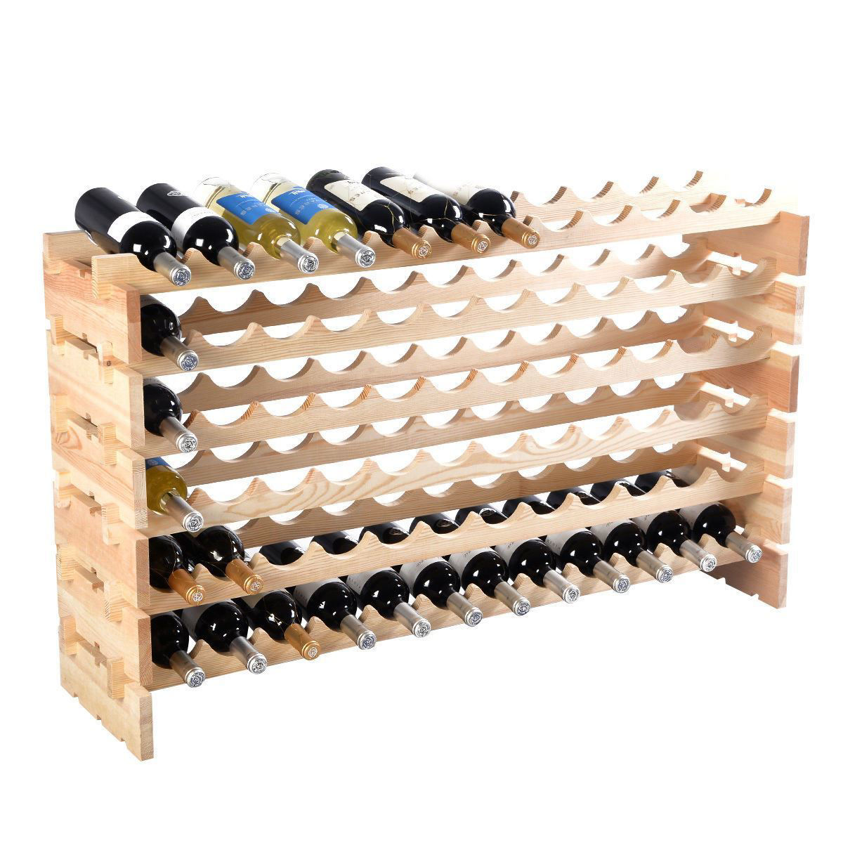 Picture of Wine Rack Holder Storage for 72 Bottles