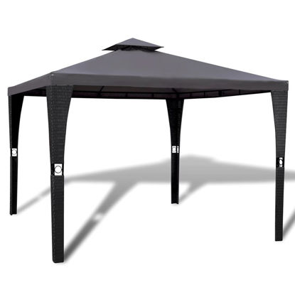 Picture of Outdoor 10' x 10' Gazebo - Dark Grey