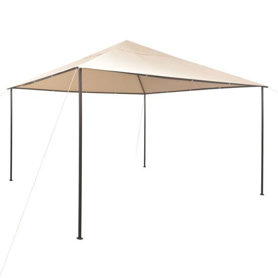 Picture of Outdoor Pavilion Gazebo Tent - Steel Beige