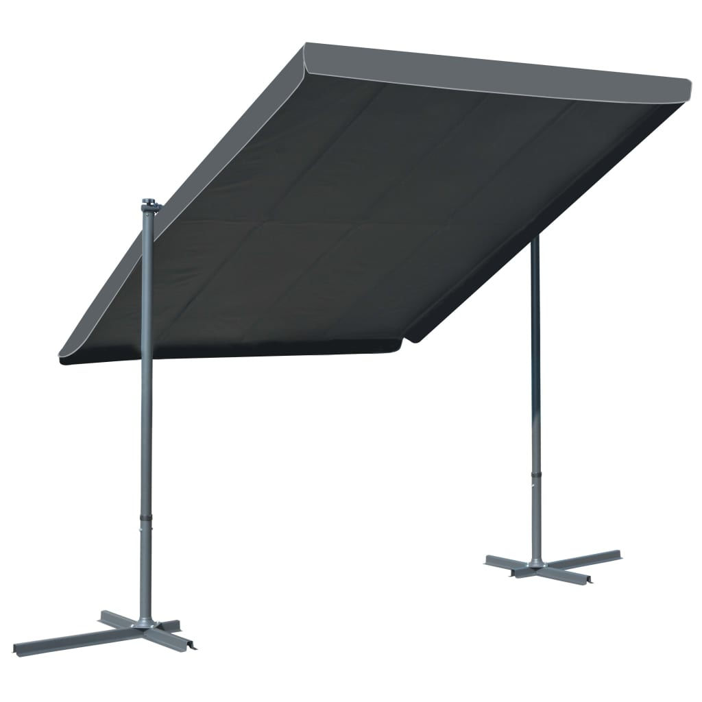 Picture of Outdoor Tiltable Retracable Roof Gazebo Tent - Anthracite