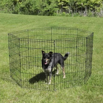 "Picture of Dog Pet Playpen 30"" 8 Panel"